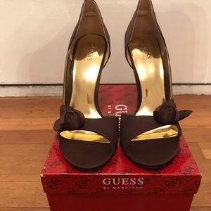 Guess Shoes - Guess Satin Heels